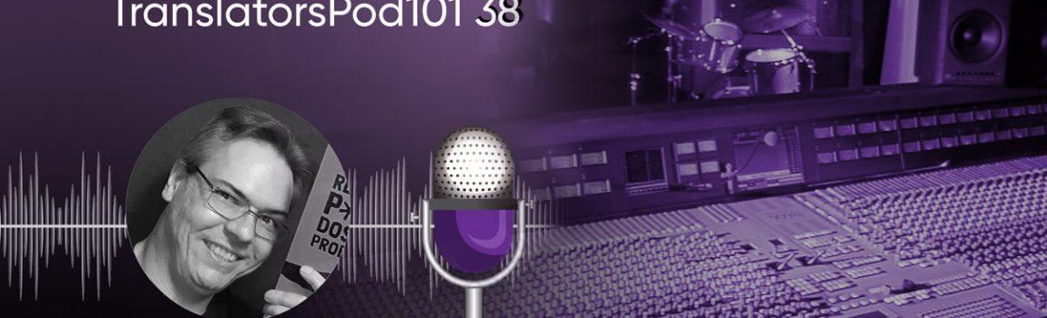 Entrevista no podcast TranslatorsPod101